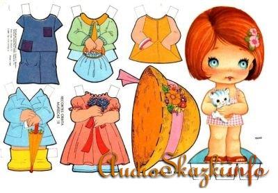 Бумажные куколки