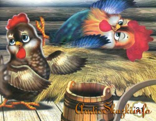 сказка петушок и бобовое зернышко картинки