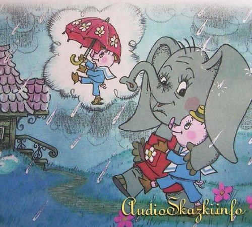 Сказка Мой друг зонтик