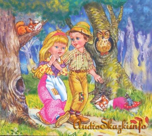 Читать сказку Гензель и Гретель