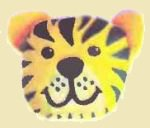 Зверушки из камней. Тигр.