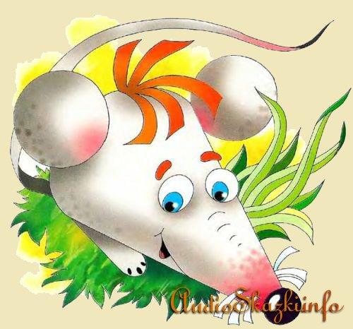 Игрушка из бумаги мышь