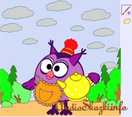 Большая коллекция раскрасок онлайн из мультфильмов ...
