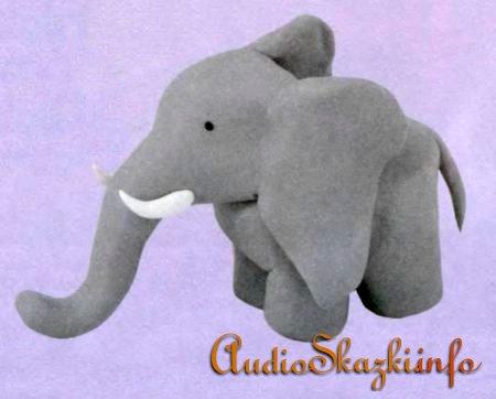 Слон из пластилина