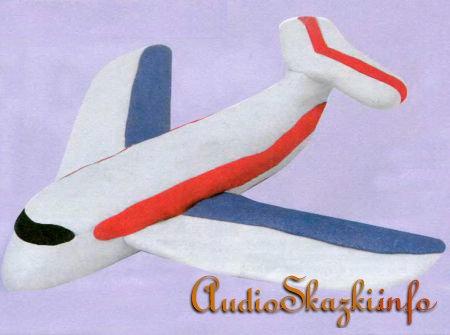 Пластилиновый самолет