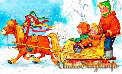 Картинки для детей - зима