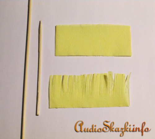 Поделки из креповой бумаги