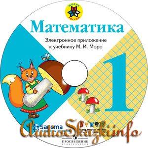 Электронное приложение к учебнику «Математика», 1 класс (М.И.Моро, УМК «Школа России»)