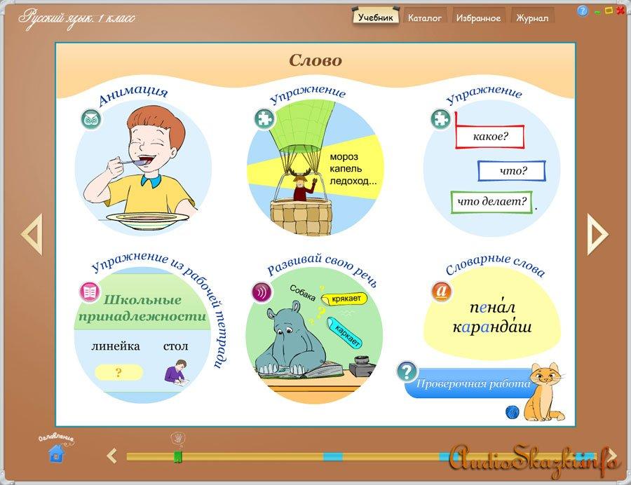 Приложение российский язык канакина 4 класс