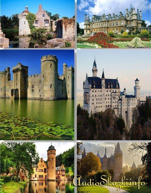 Клипарт - Средневековые замки