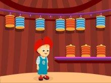 Детская игра Адибу. Непоседа в цирке.