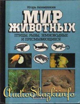 Детские книги. Мир животных: Птицы. Рыбы, земноводные и пресмыкающиеся