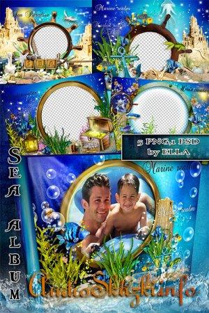 Красивый морской фотоальбом - Морские приключения
