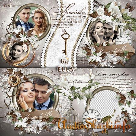 Свадебная фотокнига- Влюбленные сердца