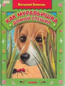 """Детская книга """"Как муравьишка домой спешил"""""""
