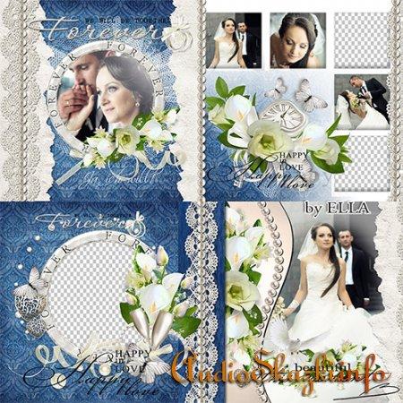 Свадебная фотокнига - В любви и радости, и в горе и в печали.