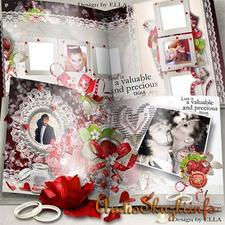 Свадебно-романтическая фотокнига - Создай и защити Свою Любовь