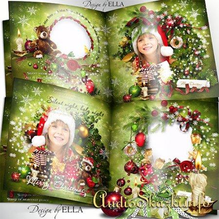 Новогодняя фотокнига-Празник Рождества