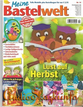 Meine Bastelwelt: Lust auf Herbst №19 2011
