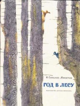 """Детские книги """"Год в лесу"""""""