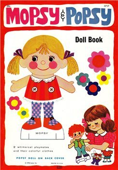 Mopsy and Popsy Doll Book