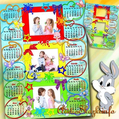 Календарь на 2013 год - Детский мир