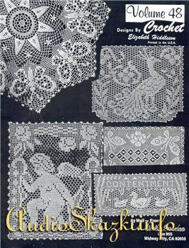 Crochet Tablecloth Designs by Elizabeth Hiddleson