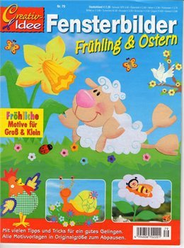 Fensterbilder No.79 Fruhling and Ostern