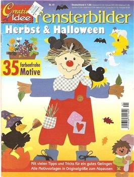 Fensterbilder Herbst & Helloween № 41 2004