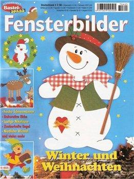 Fensterbilder - Winter und Weihnachten 2007