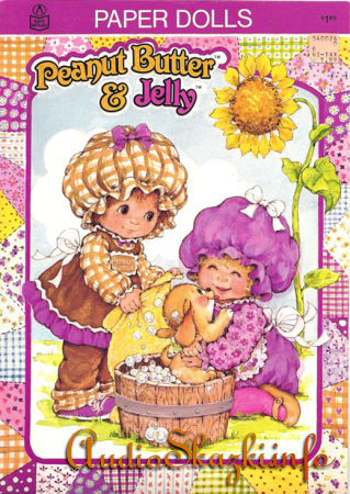 Peanut Butter and Jelly Paper Dolls