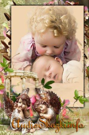 Детская рамочка для фотографий - Спящий ангел