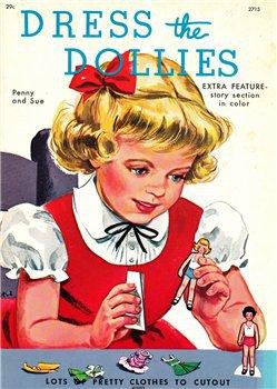 Paper Dolls Dress the Dollies