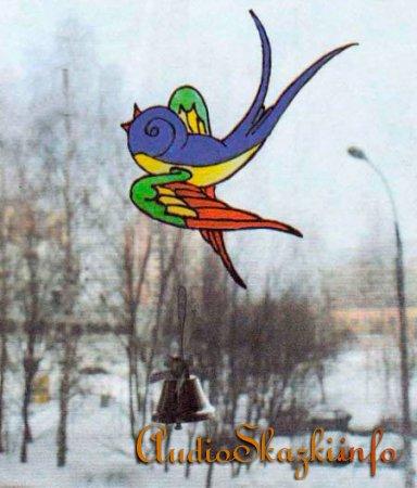 подвеска птичка