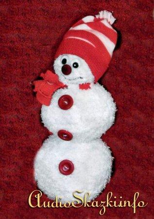 новогодний снеговик