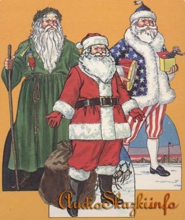 Бумажная кукла Санта Клаус.